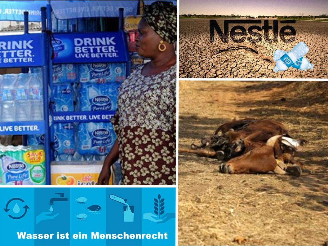 Nestlé. Unternehmens-Werte entwertet. Gewinn-Maximierung fortschreitend.