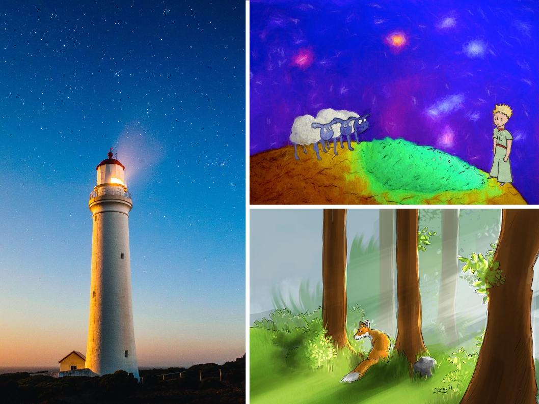 Lernen vom kleinen Prinzen. Statt graue Maus Leuchtturm mit Strahlkraft.
